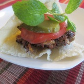 Serve with pita bread, pickles, tomatoes and sabzi.