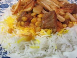 Gheymeh (Meat and Yellow Split Peas)