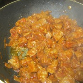 Cook for about 10 minutes or until juices are gone and meat is slightly browned.