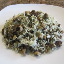 Black Eyed Pea Polo (Rice with Peas and Dill)