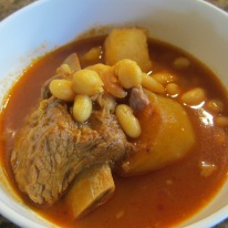 Abgoosht (Beans and Potato Soup)
