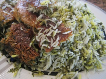 Sabzi Polo (Herb Rice)