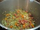 Stir in lentils.