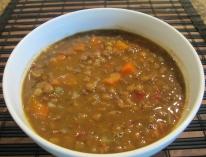 Soup Adas (Lentil Soup)