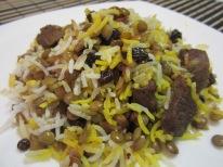 Adas Polo (Lentil Rice)