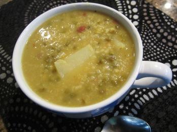 Ash Mash (Mung Bean Soup)