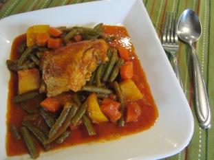 Khorak Morgh (Persian Chicken Dish)
