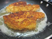 Cook each side for about 4 to 6 minutes or until golden brown.