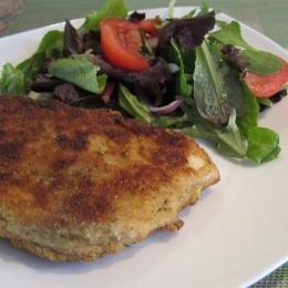 Morgh Schnitzel (Chicken Schnitzel)
