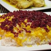Zereshk Polo (Barberry Rice)