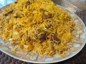 Kalam Polo (Cabbage Rice)
