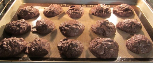 Bake macaroons in a 350 degrees oven for 20 minutes or until lightly browned.