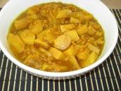 Vegetarian Khoresht Beh (Quince Stew)