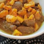 Khoresht Beh (Quince Stew)