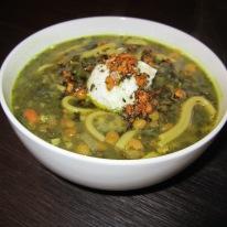 Ash Reshteh (Noodle Soup) – Simplified Version
