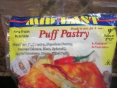 9 by 9 inch puff pastry
