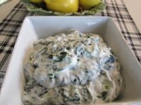 Yogurt and Spinach Dip (Borani Esfenaj)