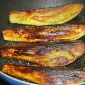 Brown eggplants.
