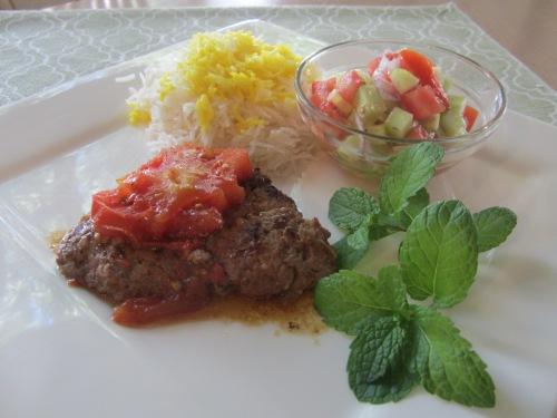 Pan Kabab