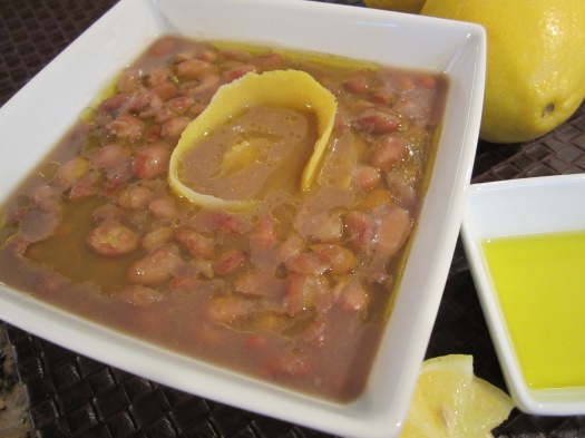 Braised Pinto Beans (Loobia Chiti)