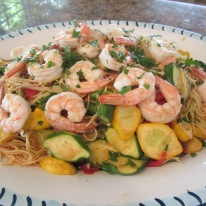 Angel Hair Pasta With Shrimp
