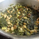 Persian spinach and plum stew