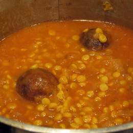 Mastering Persian Cooking - Vegetarian Gheymeh (9)