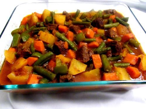 Khorakeh Goosht (Beef and Vegetable Stew)