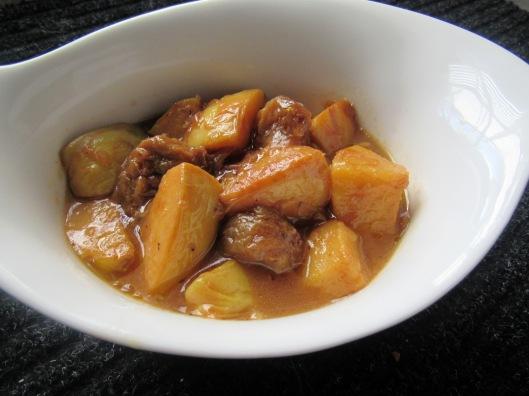 Vegetarian Khoresht Beh Aloo