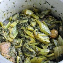 Pressure Cooker Khoresht Karafs (7)