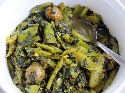 Vegetarian Celery Stew