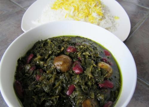 Vegetarian Ghormeh Sabzi (1)