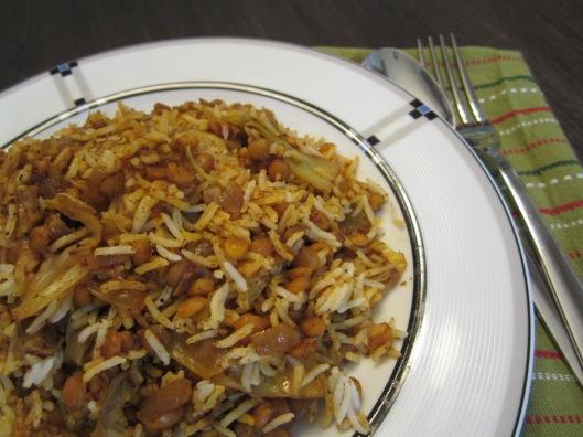 Vegan Kalam Polo (Persian Cabbage Rice)